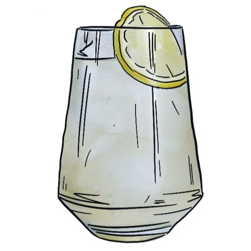 Gin Buck illustration