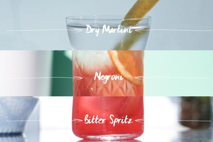 Sundowner triple drinks