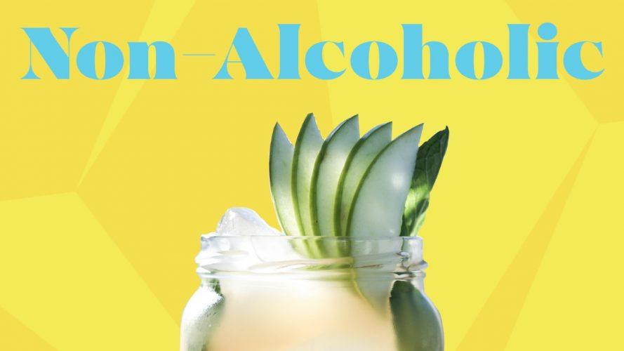 Smashapple non-alcoholic cocktail